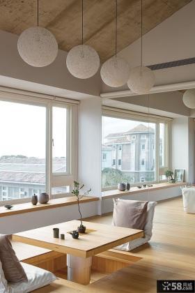 豪华复式日式阳台装修效果图