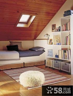 10平米矮阁楼装修
