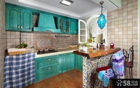 厨房整体橱柜图片欣赏
