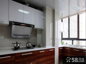 现代风格复式家装厨房设计效果图