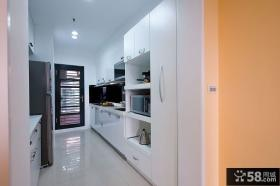 80平简约厨房装修设计图片