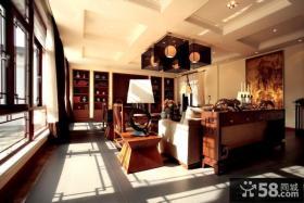 新中式风格家装别墅装修效果图大全