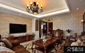 古典欧式复式家居装潢设计