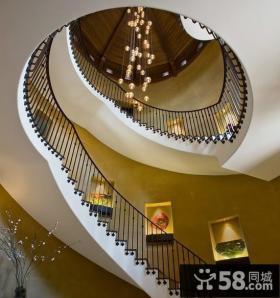 别墅内部楼梯设计图