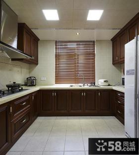 40平米U型大厨房装修设计