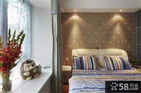室内3平米卧室飘窗
