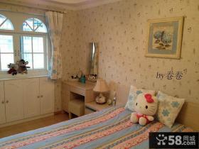 韩式田园风格卧室图片