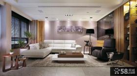 欧式客厅整体沙发装修效果图