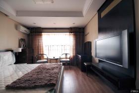 现代风格豪华卧室装修效果图