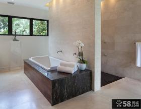 复式楼洗浴间装修效果图大全2012图片