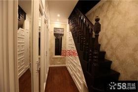 美式风格楼梯间设计
