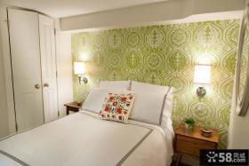 北欧家装卧室壁纸图片大全