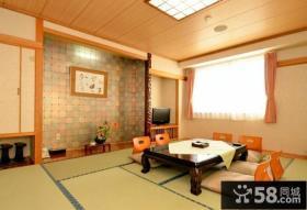 家装设计小户型客厅榻榻米效果图