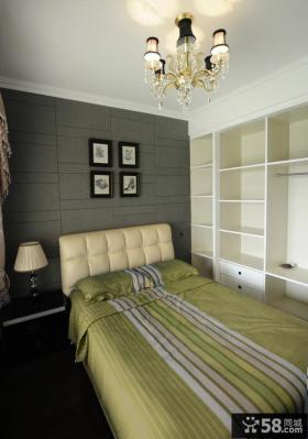 欧式风格主卧室装修效果图2013