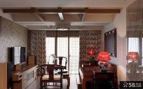 小面积暗客厅吊顶装修