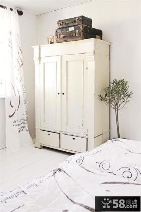 卧室衣柜装修效果图大全2015图片