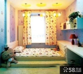 家装小户型榻榻米床设计效果图
