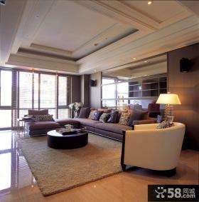 现代风格大户型公寓装修效果图