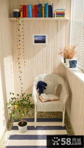 小户型家居阳台装修效果图