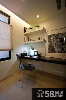 现代风格书房室内设计图片
