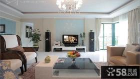 时尚家装室内客厅电视背景墙图片大全