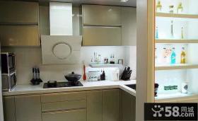 宜家设计厨房隔断图片欣赏