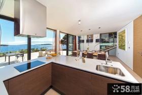 阳台厨房装修效果图片欣赏