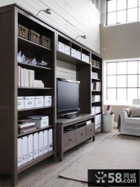 现代设计室内客厅电视背景墙大全图