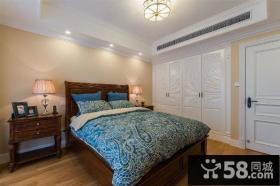 美式风格设计卧室效果图大全