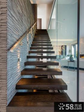2014家装设计室内楼梯效果图大全欣赏