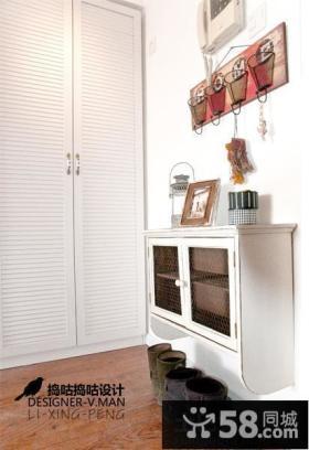 家庭装修玄关鞋柜效果图