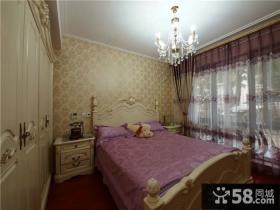 简欧家装设计卧室效果图大全