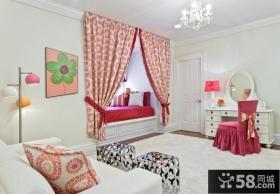 优质欧式卧室飘窗装修效果图欣赏
