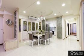 古典装修设计室内餐厅吊顶