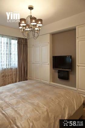 卧室液晶电视背景墙效果图