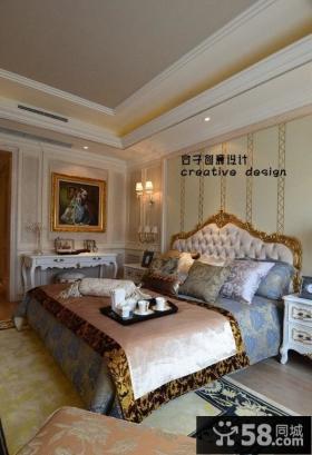 豪华欧式卧室装修效果图欣赏