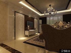 优质客厅电视背景墙装饰效果图