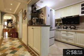 东南亚设计装修厨房隔断图片