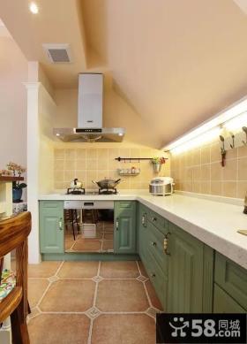 美式田园家装设计风格厨房