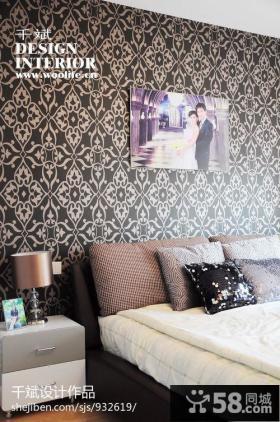 卧室壁纸背景墙图片