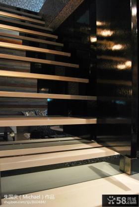 跃层楼梯装修设计图片