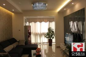 现代小户型客厅装修实景图