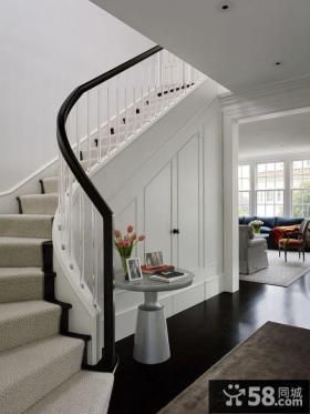 现代风格室内楼梯设计图片欣赏大全