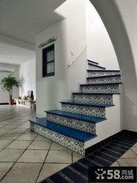 地中海楼梯装修设计