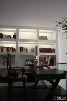 2013简约风格书房装修效果图片