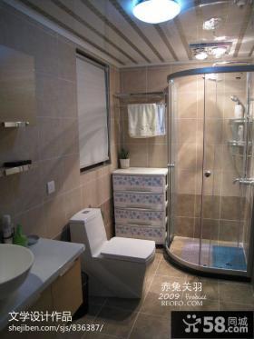 小户型卫生房淋浴房装修效果图片