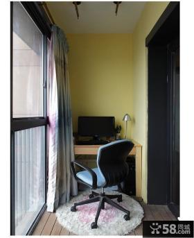 阳台家具书桌椅图片