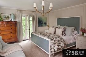 欧式装修卧室样板房