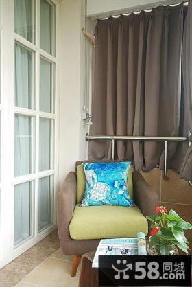 家装现代小阳台装潢