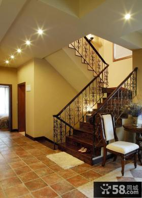 家装设计室内楼梯图片2014